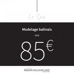 MODELAGE BALINAIS